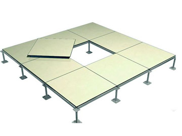 Anti-static raised floor requirements for laying sites