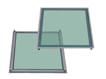 600 Ventilation & Glass Flooring