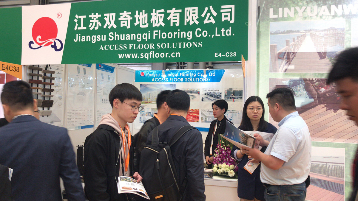 Shuangqi Floor participated in Shanghai China International Exhibition on Floor Materials and Paving Technology